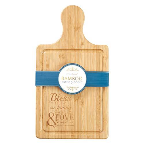 Cutting Board Bamboo Bless the Food Bamboo-bar-board