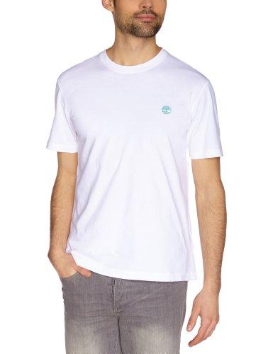 Timberland Herren T-Shirts Weiß - Weiß