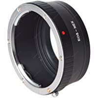 Leinox AD-S02 Bague d'adaptation pour objectifs Canon EF sur boîtier Sony NEX Noir