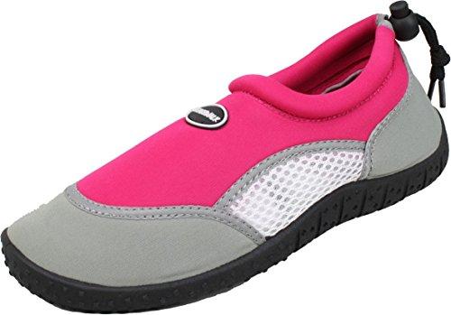 BOCKSTIEGEL® FÖHR Chaussures Aqua (28-35 Enfants Chaussures d'eau Néoprène Plage Kayak Plongée Apnée Vacances)