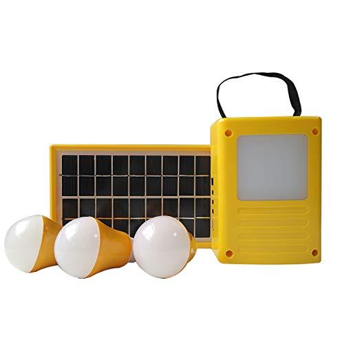 Saiko Außenbeleuchtung wasserdicht Solar Panel Beleuchtung für Camping Wandern Zelt Garden, benutzt als Hand power bank ladegeräte Outdoor Solarstromanlage 3 W