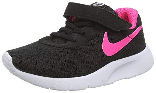 Nike Unisex-Kinder Tanjun (TD) Sneaker, Schwarz (Black/Hyper Pink-White 061), 23.5 EU