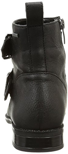 Clarks Mint Zest GTX Damen Chelsea Boots Schwarz (Black Leather)