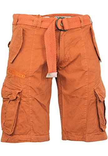 Geographical Norway bermudas shorts Pretoria men, Farbe:Orange;Hosengröße:L