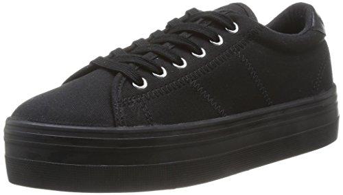 no-name-plato-zapatillas-de-deporte-de-canvas-para-mujer-negro-noir-black-fox-black-38