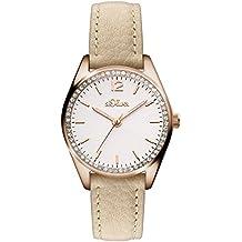 s.Oliver Time Damen-Armbanduhr SO-3321-LQ