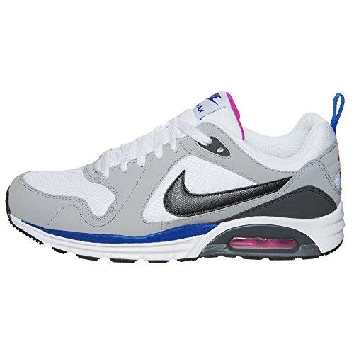 Nike  Air Max Trax, Chaussures de course homme Gris, blanc et noir