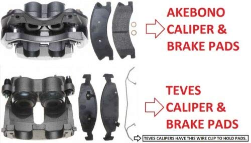 Alpha freni Nty 2/x pinze freno /& pastiglie freno anteriore Wrangler YJ /& TJ 1990/ /2006