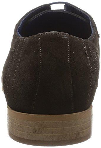 Azzaro Boldin, Chaussures de ville homme Marron (Ebène)