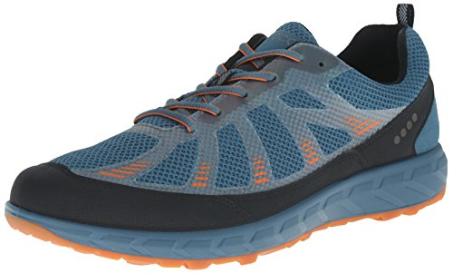 ecco ECCO TERRATRAIL 803504/59427 Uomo Scarpe stringate basse Multicolore(Black/Petrol/Orange 59427)