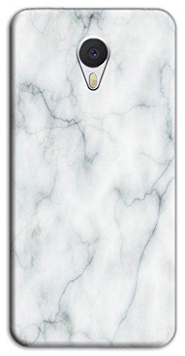 Mixroom - Cover Custodia Case In TPU Silicone Morbida Per Meizu M5S M3530 Fantasia Marmo Liscio