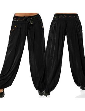 VICGREY ❤ Pantaloni Larghi Don