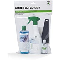 Skoda 000096352H Winter De-Icer Ice Scraper Set of 5 Glass Polish Cloth Care Cleaning - ukpricecomparsion.eu