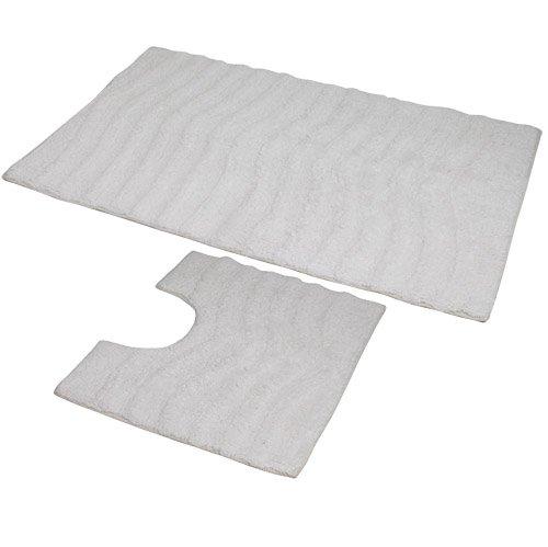 jvl-ripple-zweiteiliges-badvorleger-set-50x80-und-50x40-cm-maschinenwaschbar-weiss