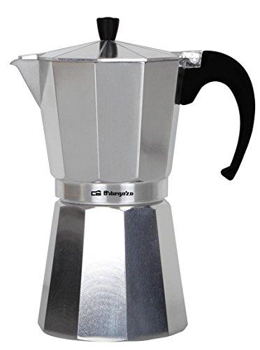 Orbegozo KF 1200 KF1200-Cafetera, Aluminio, 12 Tazas