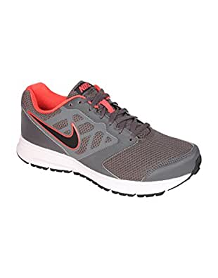 Nike Men's Downshifter 6 MSL Dark Grey, Black and White Running Shoes - 11 UK/India (46 EU)(12 US)