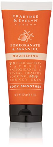 Crabtree & Evelyn Pomegranate and Argan Oil Body Smoother Körperpeeling 175g Bodyscrub -