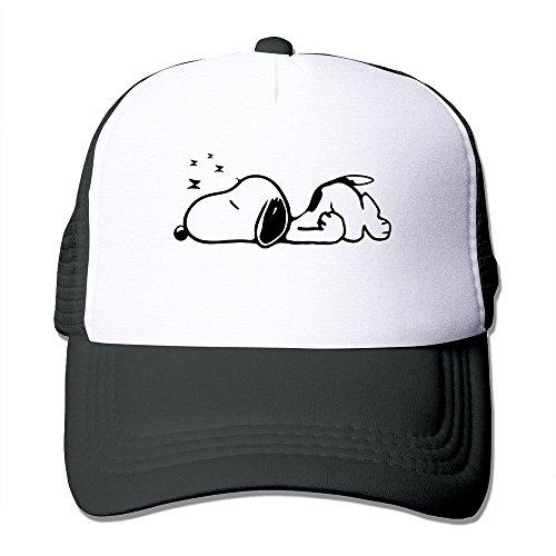 opy Male/Female Baseball Mesh Caps Hat Adjustable 100% Nylon By JE9WZ Black ()