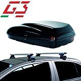 Barres de Toit pour Coffre de Voiture Compatible avec Volkswagen Golf V 5P 03-07 Toit G3 Porte-Bagages Fixation spécifique pour coffres de Toit