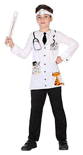 ATOSA 39423 Tierarzt Jungen mehrfarbig (Amazon Tierarzt Kostüm)