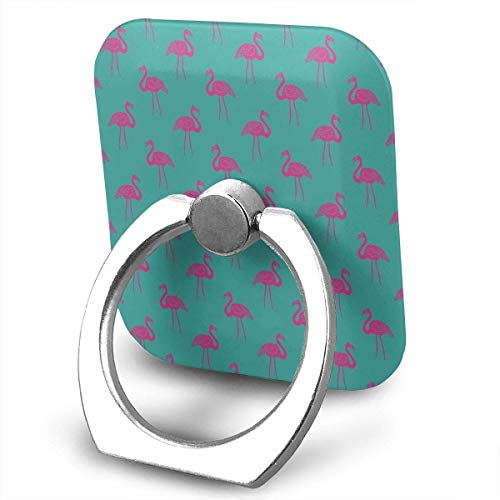 Nicegift Tropical Summer Preppy Flamingo Finger Ring Holder, Universal Cell Phone Ring Grip Stand Support for iPhone Android Phone