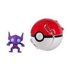 "Pokémon T19113, Poke Ball a apertura automatica ""throw N pop"""