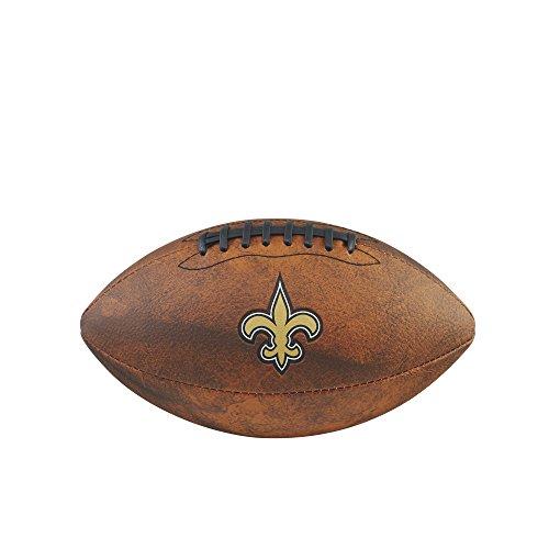 NFL New Orleans Saints Junior Wilson Throwback Fußball, 27,9cm, braun
