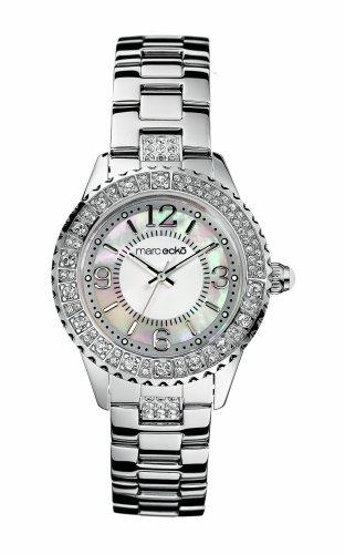Marc Ecko e11536l1-Montre bracelet pour femme, bracelet en acier inoxydable couleur argent