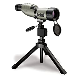 Bushnell 784550 Nature View 15-45x50mm Porro Prism Spotting Scope with Compact Tripod - Lead Free Glass, Green