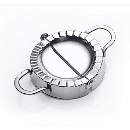 Cutter Den Kuchen Ganzen (Best Utensils Form aus Edelstahl zur Herstellung von Ravioli, Piroggen, Klößchen, Gebäck, Teigformer, Küchenzubehör, Edelstahl, silber, M-10CM)