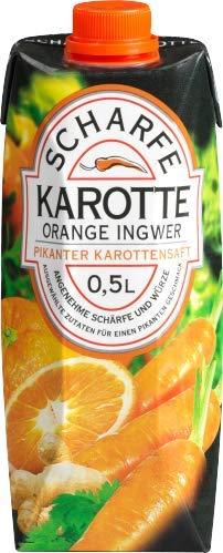 Dohrn & Timm - Scharfe Karotte Orange Ingwer Gemüse-Frucht-Saft - 0,5l - Saft Orange-karotte
