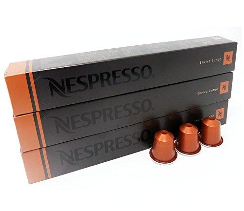 Get 30 Nespresso Envivo Lungo Coffee Capsules from NESPRESSO