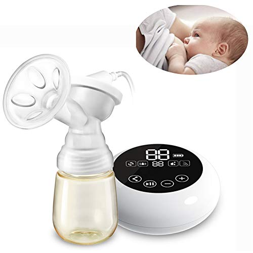E-KIA Brustpumpe Elektrische Milchpumpe,Automatische Wiederaufladbare Automatische Milchpumpe Nach Der Geburt, Stummes, Tragbares USB-LadegeräT