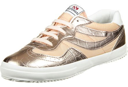 Superga 2832 Metcrow Sneaker Damen Gold