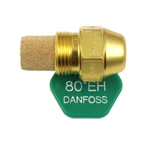 Danfoss Oil Fired Boiler Burner Nozzle 0.75 x 80 EH USgal/h ° Degree Spray Pattern Heating Jet 2.25 Kg/h