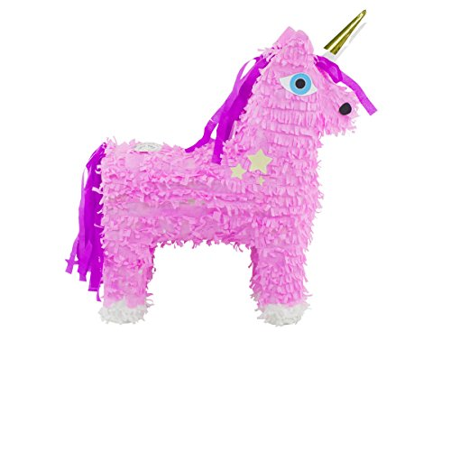 Folat 60921 - Piñatas Einhorn - 57 x 37cm - rosa / pink