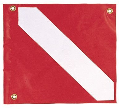 Dive Flagge Nylon 50,8 x 61 cm by Innovative Scuba Concepts