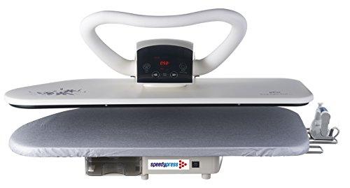 Professional 100HD Hochleistungs-Dampf-Bügelpresse, 101cm (+ GRATIS Ersatzabdeckung & Schaumstoff-Unterfilz und Wasserfilterpatrone) - 2