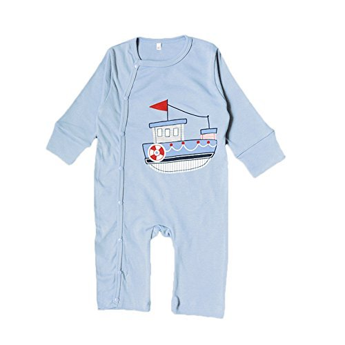 Samber Infant Baby Long-sleeved Romper Jumpsuits Size from 0-18 Months (L