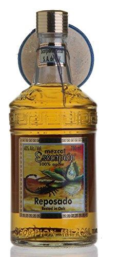 ESCORPION Mezcal REPOSADO mit echtem Skorpion (1 x 700ml)
