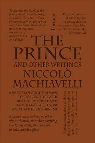 The Prince and Other Writings (Word Cloud Classics) por Niccolò Machiavelli