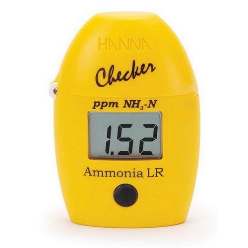 Testeur Photomètre d'Ammoniac Hanna Checker pour Eau Douce (HI 700)
