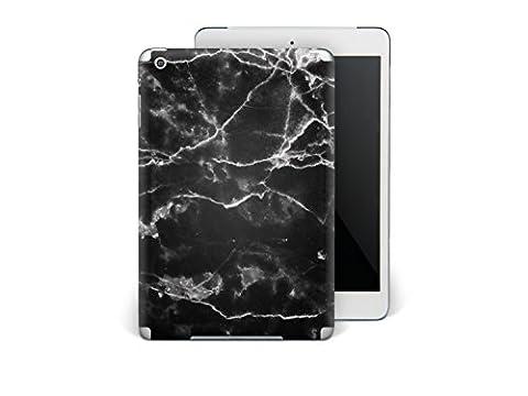 Apple iPad Mini Autocollant | Skin sticker vinyle arrière Tablette Tactile | Coque protéger - coloré à la mode jolie | Design Marbre Noir