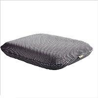 Preisvergleich für JianMeiHome Kissen Stuhlkissen Sitzkissen Mesh Büro Kissen Atmungsaktive Startseite Kissen Dickes Auto Sitzkissen grau