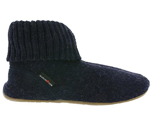 Haflinger Natural Shoes Unisex - Erwachsene Everest Karlo 481006 Blau