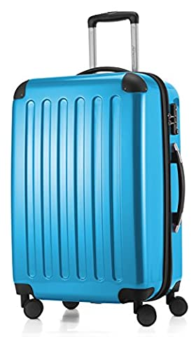 HAUPTSTADTKOFFER - Alex - NEU 4 Doppel-Rollen Hartschalen-Koffer Koffer Trolley Rollkoffer Reisekoffer, TSA, 65 cm, 74 Liter,
