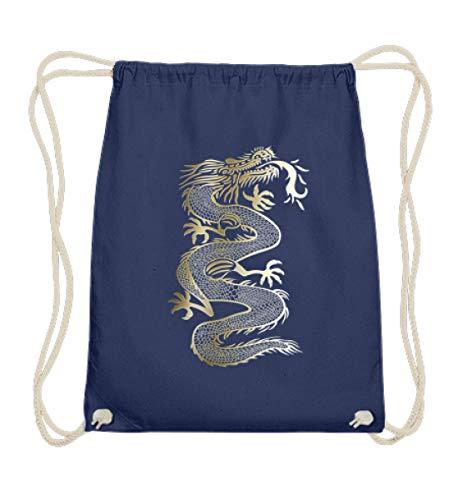 Chinesischer Drache Gold Dragon Fantasy T-shirt Kampfsport Geschenkidee -