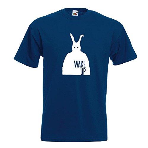 KIWISTAR - Frank - Bunny Man T-Shirt in 15 verschiedenen Farben - Herren Funshirt bedruckt Design Sprüche Spruch Motive Oberteil Baumwolle Print Größe S M L XL XXL Navy