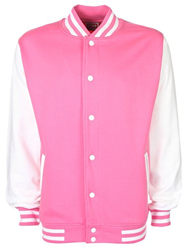 Girl Almighty One Direction Varsityjacken Rosa