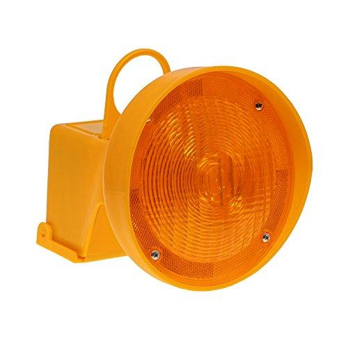 LED-MARTIN® Leitkegel Warnleuchte - für zusätzliche Sicherheit bei Leitkegel - Unfallabsicherung - Absperrung - Umleitung - Straßensicherheit